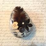 Ozdoba – Veľkonočné vajíčko s využitím washi pásky