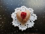 Srdiečková tortička z polymérovej hmoty