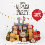 DROPS Alpaca Party - 30% zľava na alpaka vlny