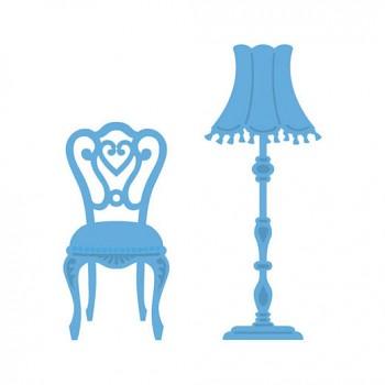 Vyrezávacie šablóny / Chair and Lamp