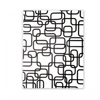 Silk Screen template / Interlocking rectangles