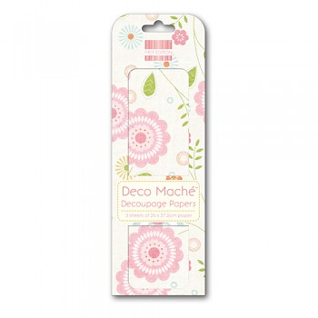 First Edition Deco Mache / 3ks / Spring Bloom