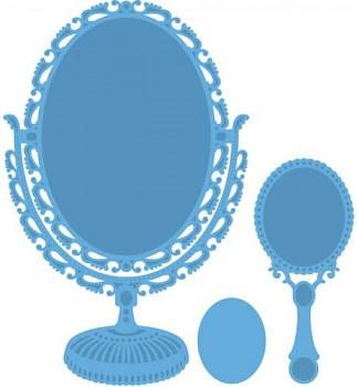 Vyrezávacie šablóny / Vintage mirror