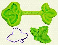 Patchy forma / jahodový list