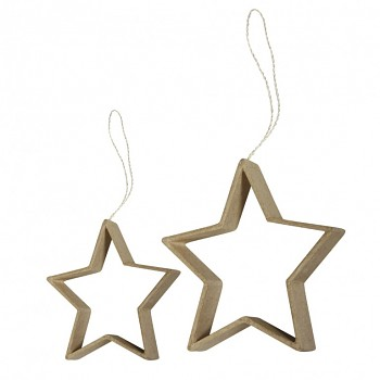 Quilling hanger / hviezdy