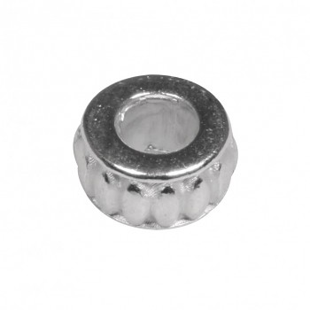 Metal- Round, 9mm / silver