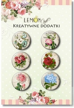 Flowers - vintage / buttonky