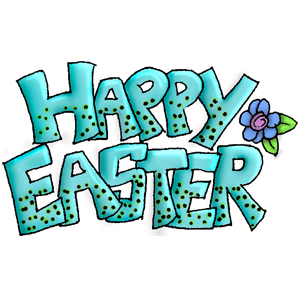 Cling Stempel / Block Happy Easter