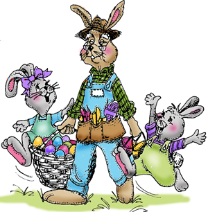 Stempel gumovy / Grandpa Bunny
