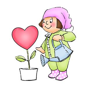 Stempel gumovy / Valentot Heart