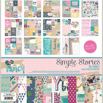 So Fancy 12x12 - Collection Kit / sada papierov a samolepiek