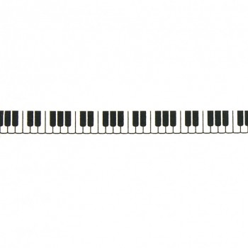 Washi páska - keyboards