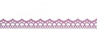Dekoračná stuha / Elegance  / 15mm / 1m / Antique pink