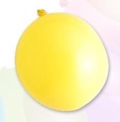 Ballon standard 30cm, 2,8g / 10pcs / yellow