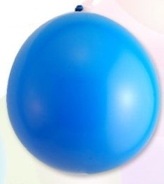 Ballon standard 30cm, 2,8g / 10pcs / dark blue