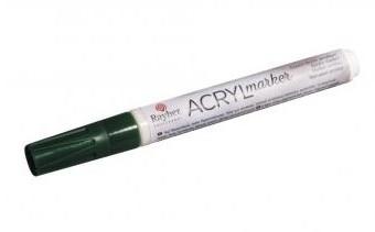 Акриловый маркер 2-4 мм / темно-зеленый