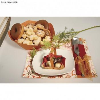 "Samolepiaca fólia 12x12"", food safe / 4ks"