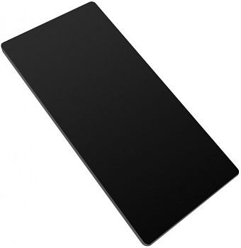 Podložka na rýhovanie /čierna / predlžená XL