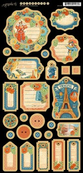Worlds Fair Journaling Chipboard
