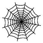 """Šablóna / 12x12"""" / Spiderweb"""