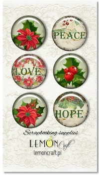 Christmas Greetings - Buttons
