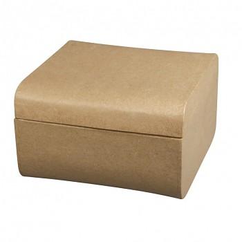 Papier-maché krabička 12.5x12.5x8cm
