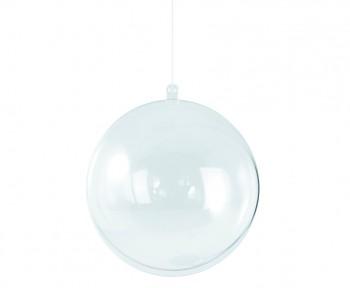 Plastová guľa (2-dielna) / 8 cm