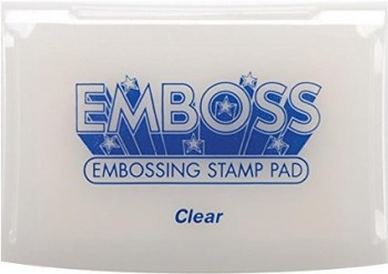 Emboss Ink Pad / clear