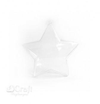 Akrylová hviezda / 8 cm