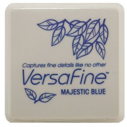 Malá poduška Versafine / modrá