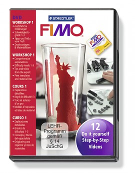 Fimo DVD - 12 tutorials step by step