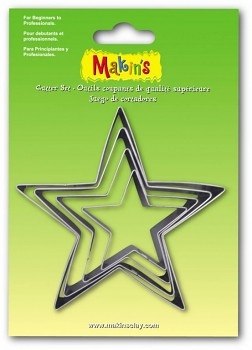 Clay Cutters - Star / 4pcs