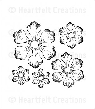 Cling Stempel Set / Arianna Blooms
