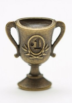 Metal Ornament / cup / 17x17mm