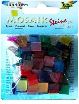 Mosaic 10x10mm / frosted / 45g