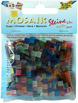 Mosaic 5x5mm / frosted / 45g