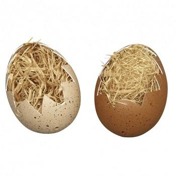 Plastové vajíčka otvorené / 4x6cm / 2ks