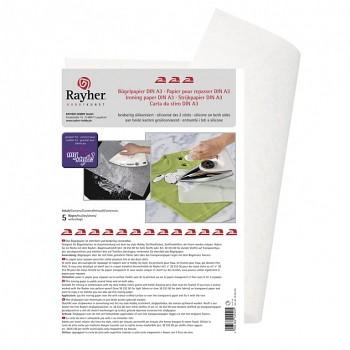 Žehliaci papier A3 / biely / 5ks