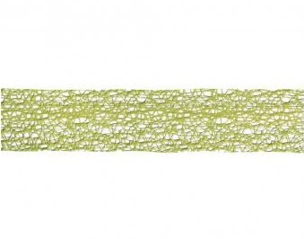 Dekoračná stuha - sieť 40mm / 1m / zelená