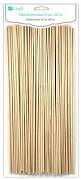 Wooden Sticks - 25cm / 100pcs