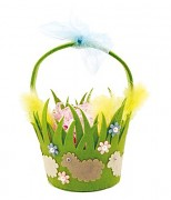 Easter Felt Basket Craft Kit - Grass