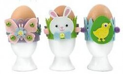Easter Egg Decorations Craft Kit / Filcová kreatívna sada
