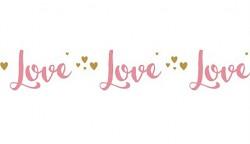 Washi páska - Love