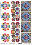 Rice decoupage paper A4 / ITD R847