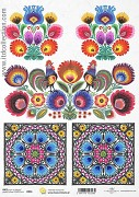 Rice decoupage paper A4 / ITD R854