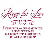 Stencil / A4 / Recipe for Love