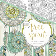Colouring book / 25x25cm / Free Spirit