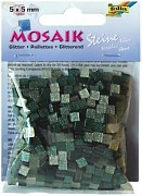 Mosaik 5x5mm / glitter green