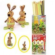 3D-Quilling KIT / Easter Bunnies