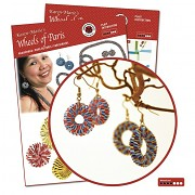 Instruction / Earrings with quilling strips